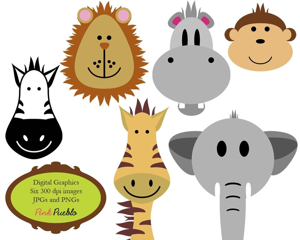 animals clip art clipart zoo jungle safari wild by pinkpueblo rh pinterest co uk clip art zoo animals black and white clipart cute zoo animals