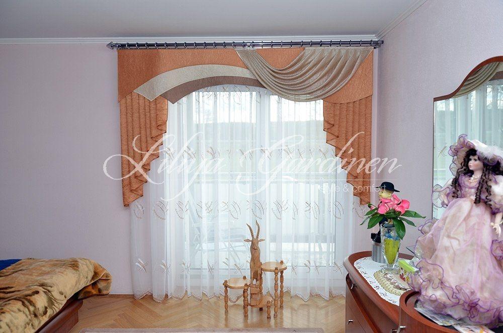 Fensterdekoration Schlafzimmer