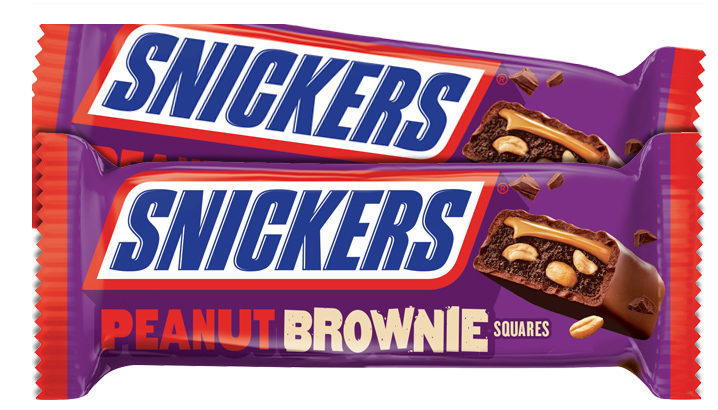 New Snickers Peanut Brownie Candy Bar Revealed New Snickers Candy Bar Peanut Brownies