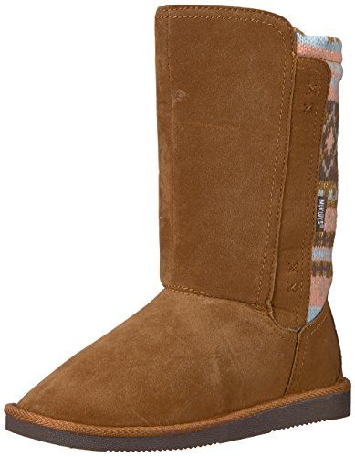 Muk Luks Kids' Girl's Stacy Brown/Multi Fashion Boot