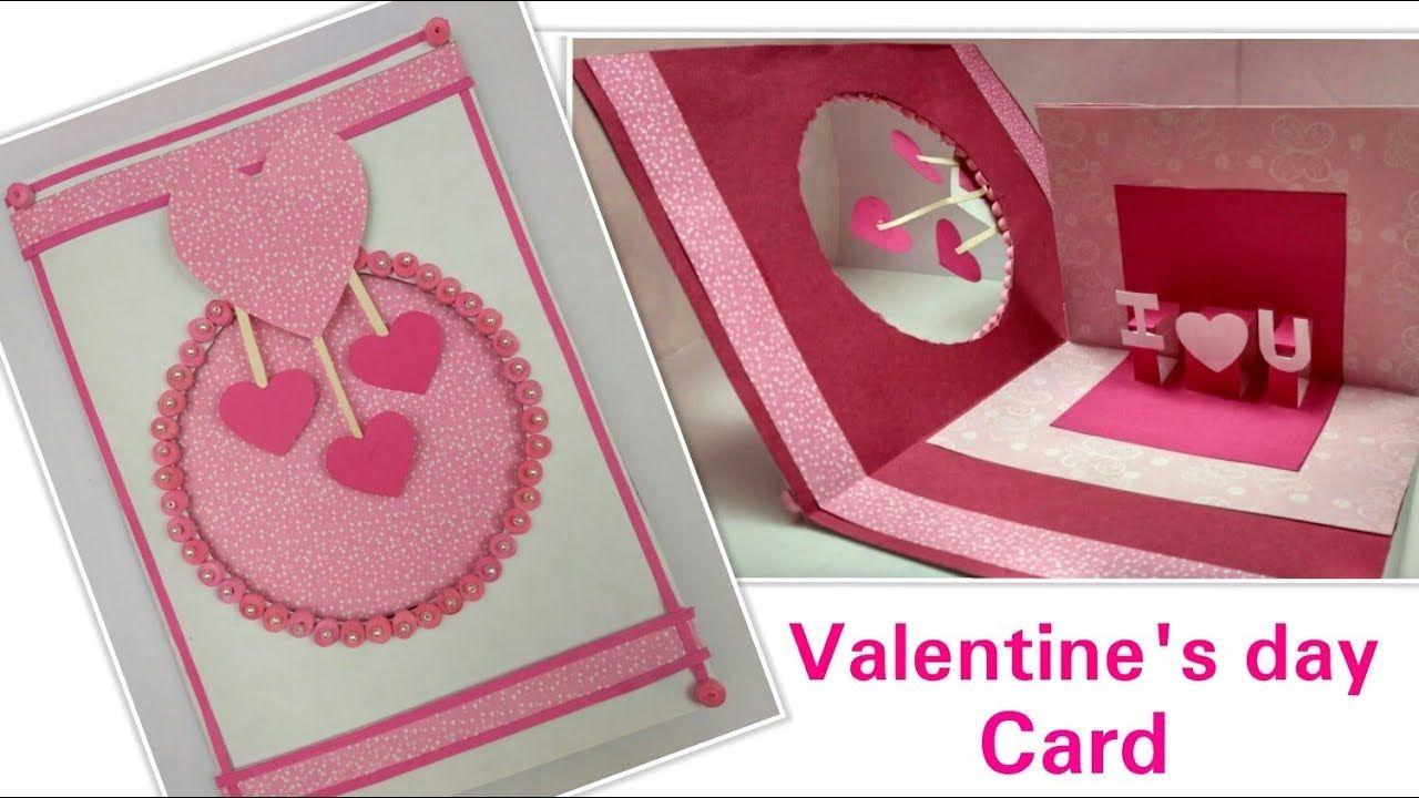Diy Valentine Card Handmade Love Greeting Cards For Himboyfriend