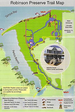 Robinson Preserve Map Robinson Preserve   MyHikes.| Am I Crazy????????? | Florida  Robinson Preserve Map