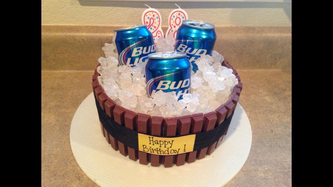Beer Birthday Cake Party Ideas Pinterest
