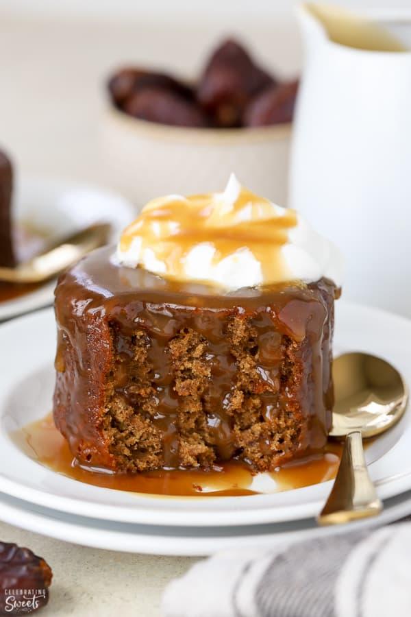 Sticky Toffee Pudding - Celebrating Sweets Sticky