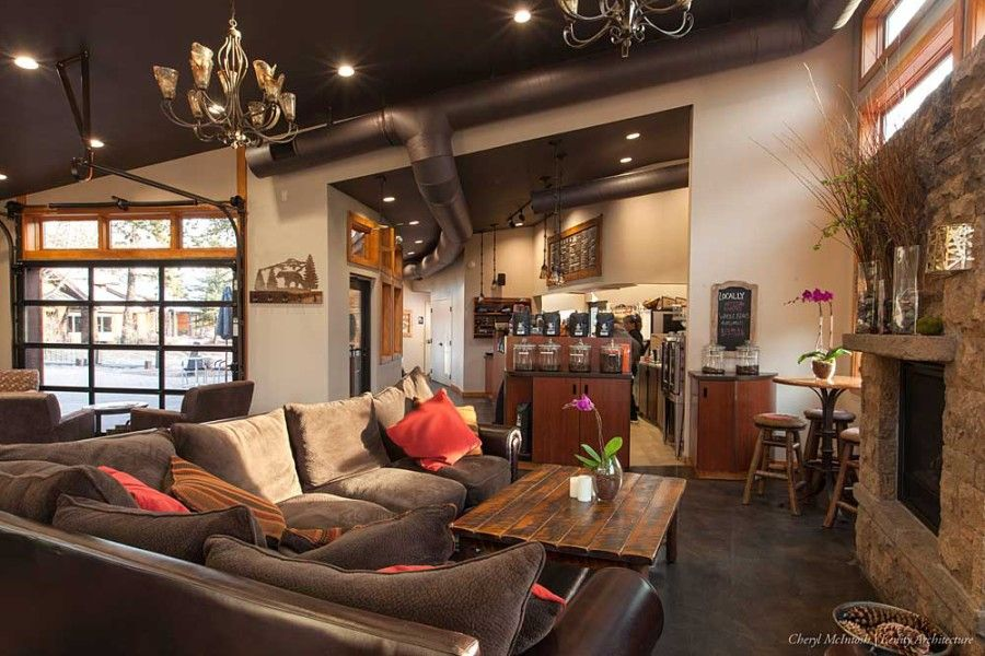 big comfy couches Brewed Awakenings coffee shop Cozy