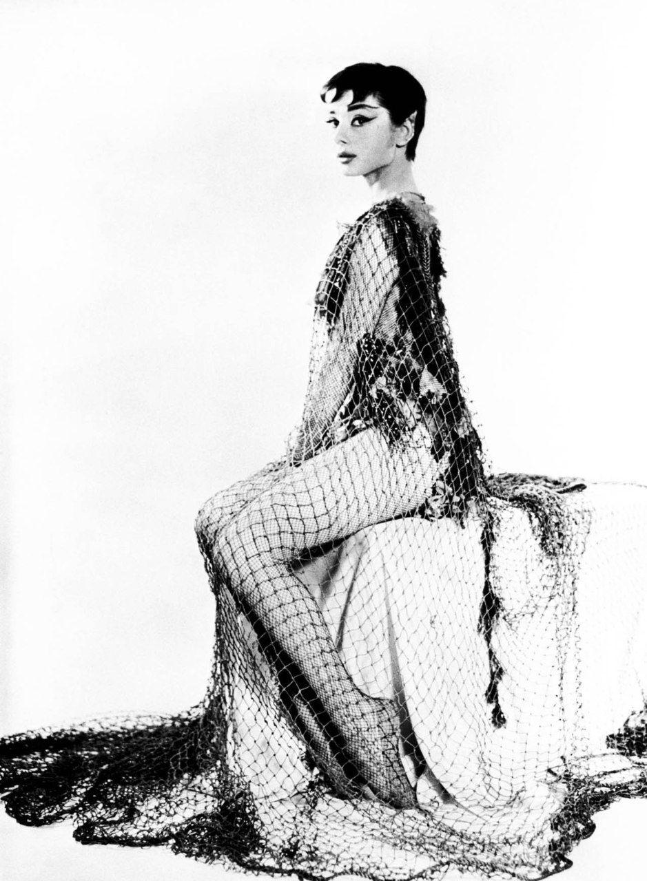 Portrait of Audrey Hepburn for drama Ondine directed by Alfred Lunt, 1954   Audrey hepburn ...