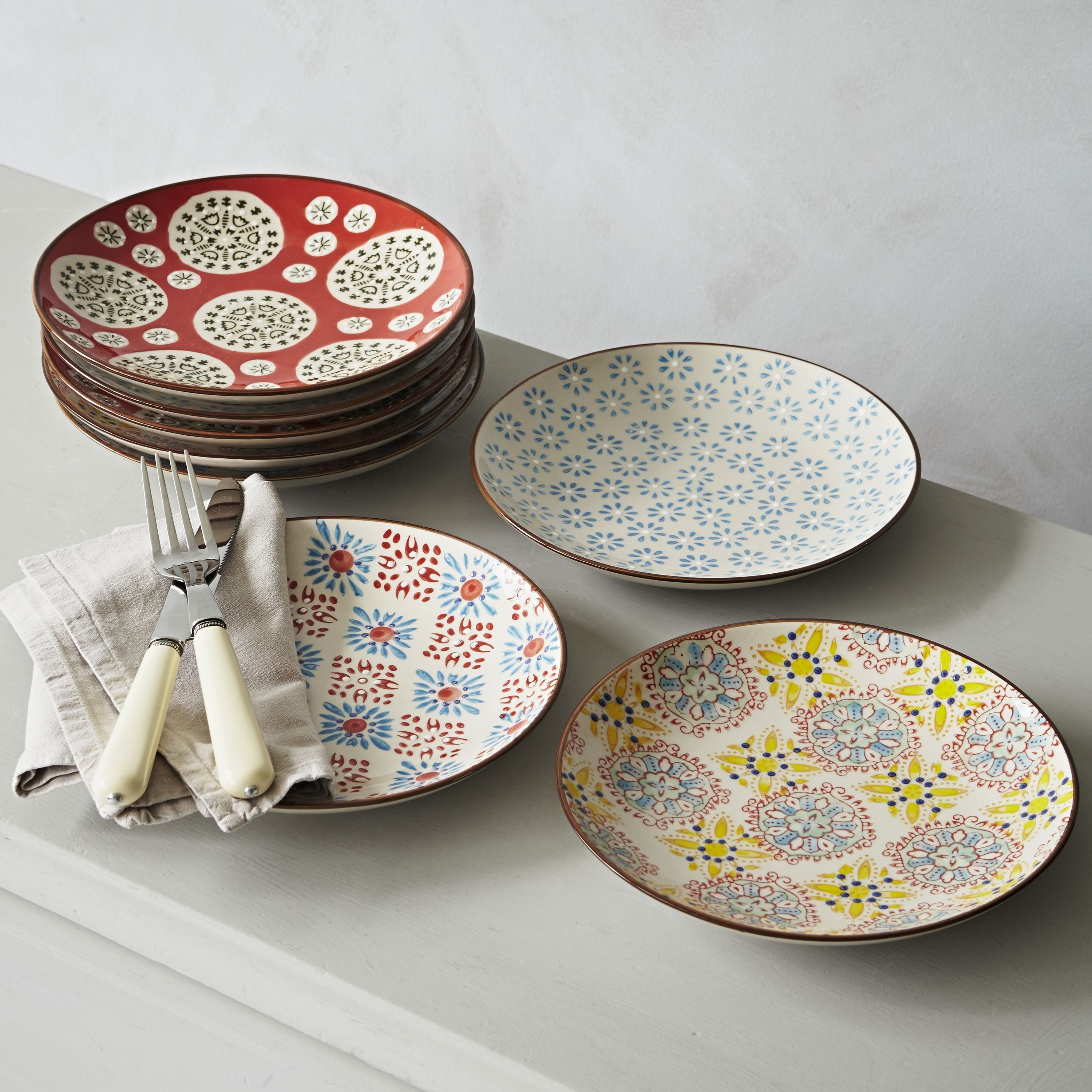mix and match these lovely boho side plates in with your existing  - mix and match these lovely boho side plates in with your existing dinnerplates their