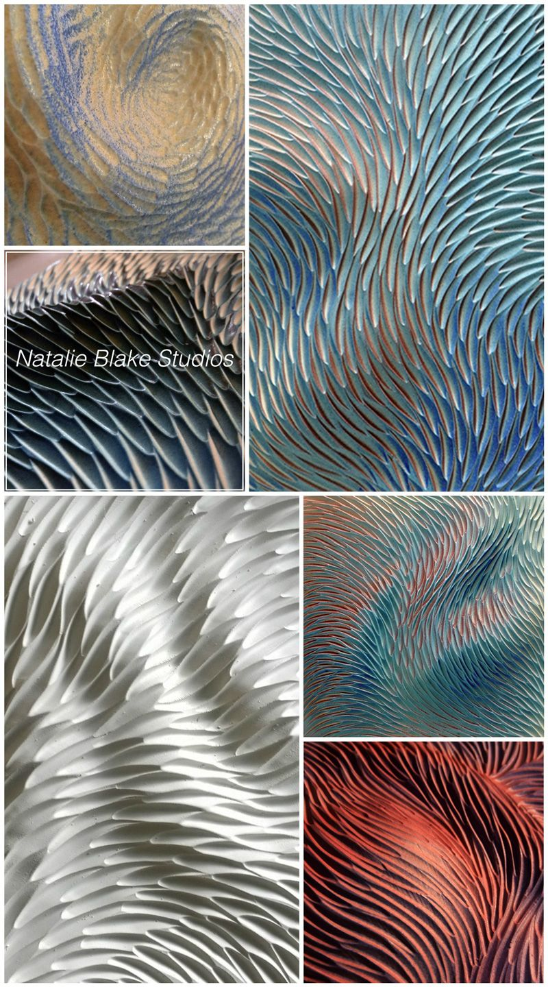 Patterns and Textures inspired by nature - handmade hand carved ...