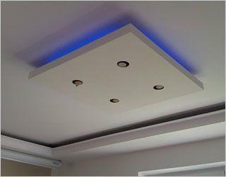 verlichtingsarmatuur met LED verlichting, van ikea tafelblad | cheap ...