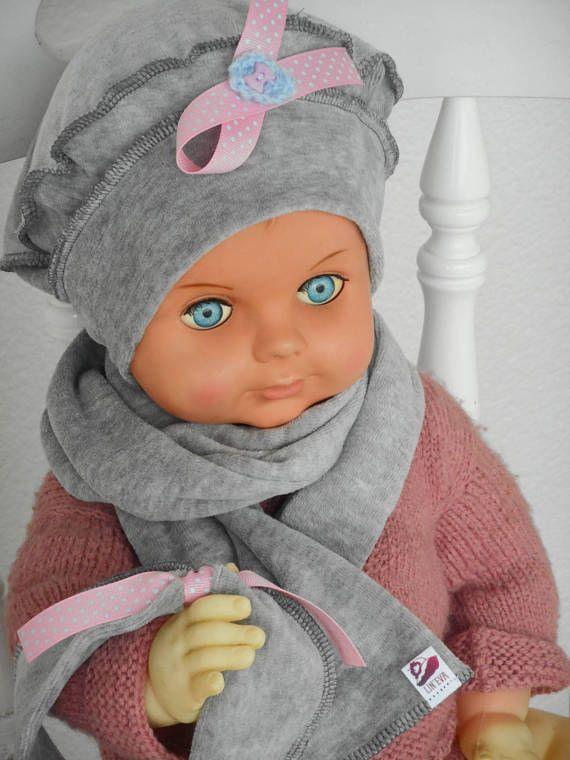 bonnet béret chapeau écharpe bandeau bébé fille lin eva   BONNETS ... 533de023619