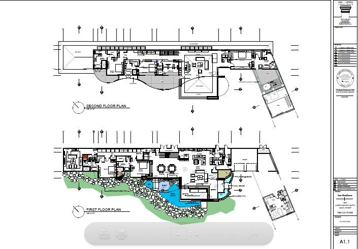Spectacular And Luxury Jewel Of Kahana Home In Hawaii By Arri Lecron Architects Home Design And Home Interior Floor Plans How To Plan House Plans