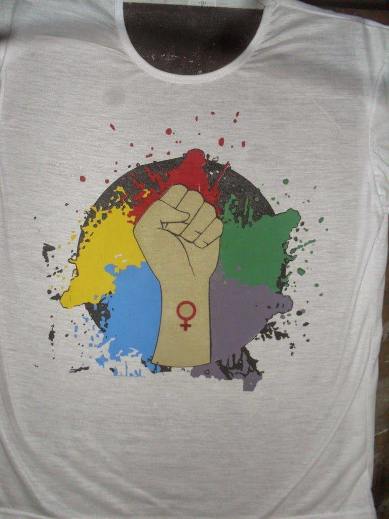 knupSilk - ESTAMPARIA/SERIGRAFIA: Luta Feminista