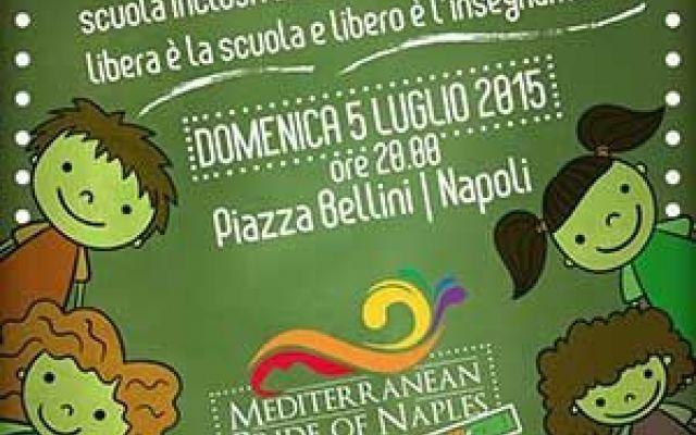 We are the Pride: verso il Pride, per una scuola inclusiva Com'è ormai tradizione, in vista del Mediterranean Pride of Naples, la comunità lgbt napoletana si incontra in piazza bellini. L'appuntamento è per domenica 5 luglio con una serata interamente dedica #napoli #pride #gay #lgbt #scuola