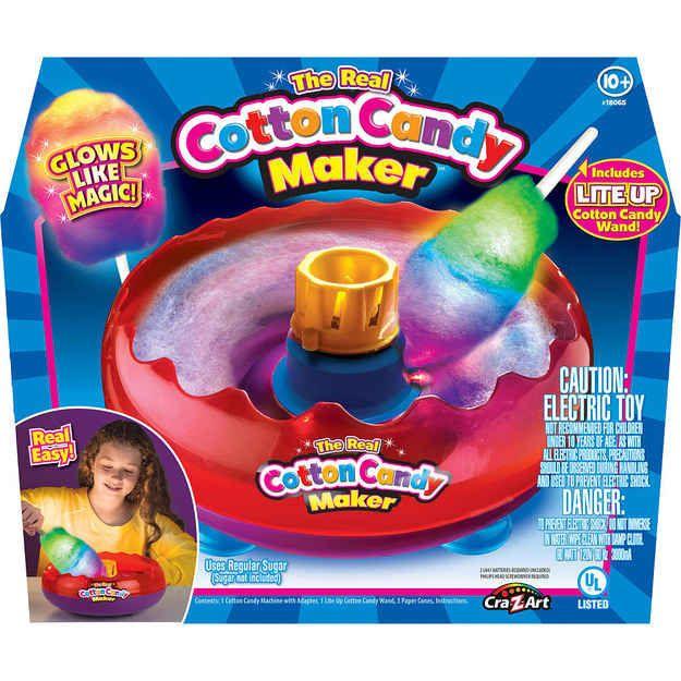 381bc6176c48c ¿Por qué esta máquina para hacer algodón de azúcar de colores solo debería  ser para niños  ¡Especialmente si brilla en la oscuridad!