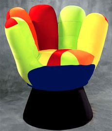 this is the related images of Chairs Shaped Like Hands