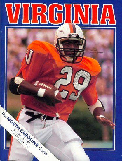 1989 #UVA vs. #UNC football program (With images ... North Carolina Football Shoes