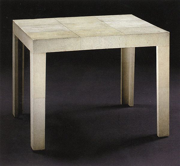 The Parsons Table, Designed By Jean Michel Frank In The 1930s. Description  From Pinterest