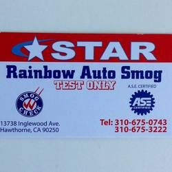 Marina Smog Test Only Center Gardena Ca