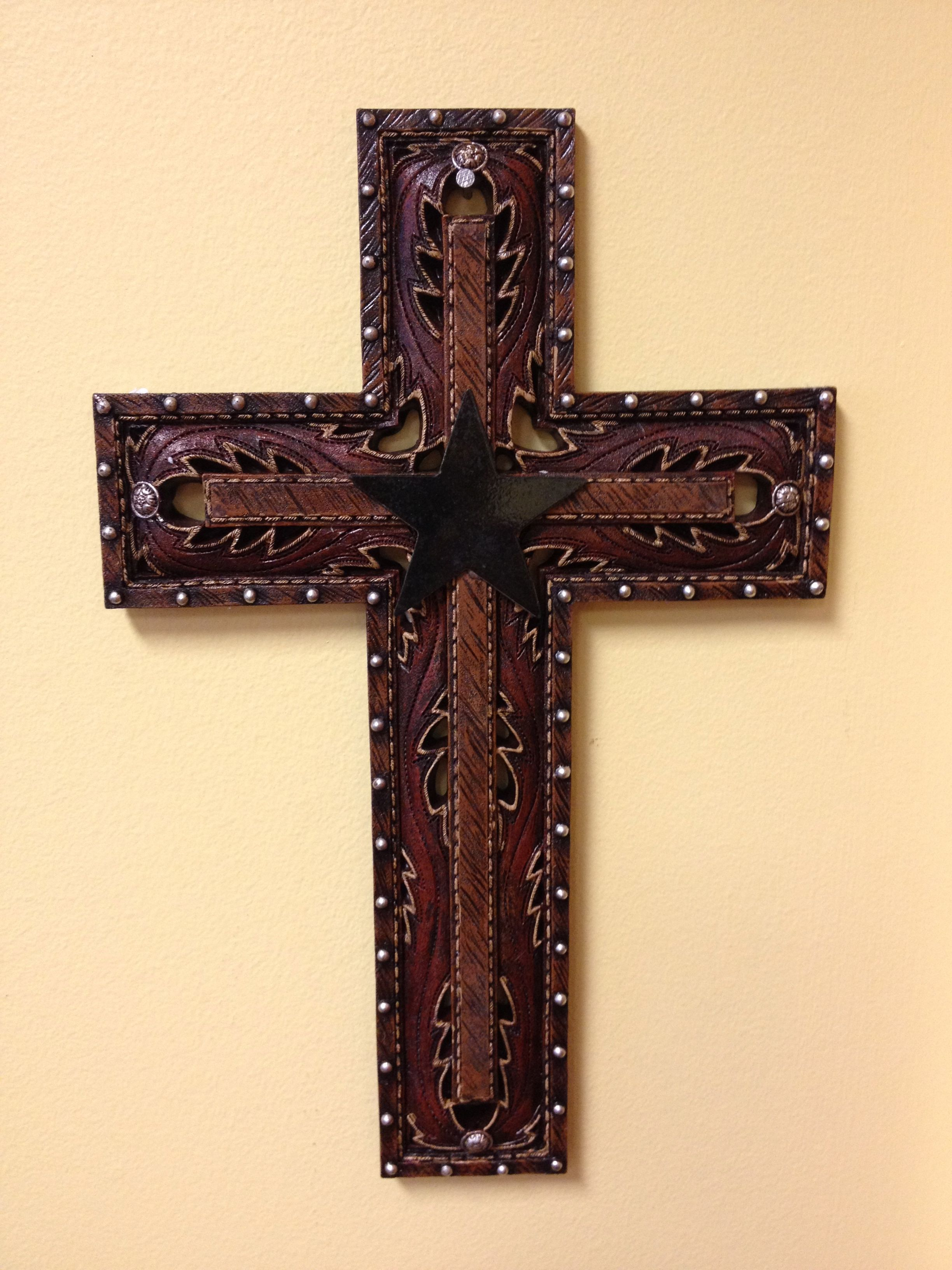 Rustic ceramic, metal cross. | Wall Decor | Pinterest | Rustic ceramics