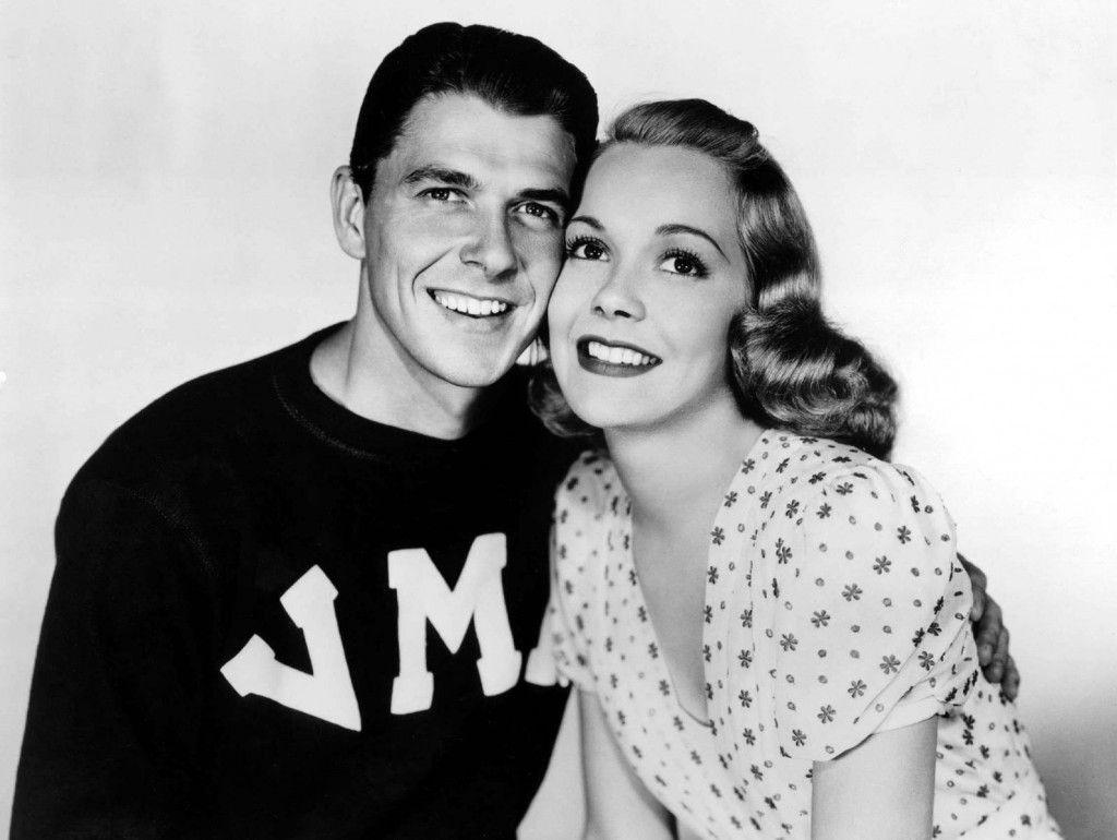 Ronald Reagan and Jane Wyman  Mr and Mrs Reagan