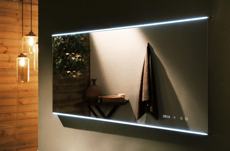 Backlit Mirror Remer Led Mirror Digital Clock Mirror Demister Pad Demister Mirror Smart Mirror Light Up Mirro Led Mirror Bathroom Bathroom Mirror Mirror