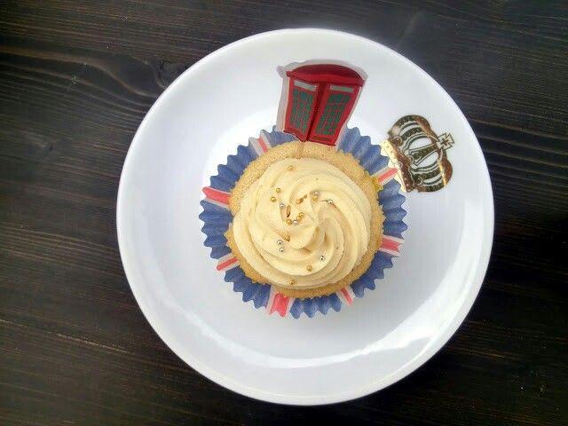 Hummingbird Bakery Earl Grey Cupcake