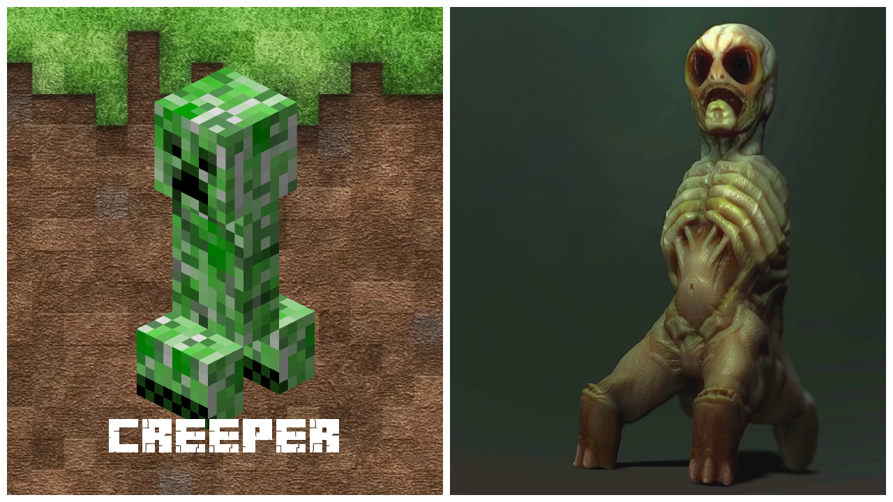 Creepers Vs Minecraft Roblox