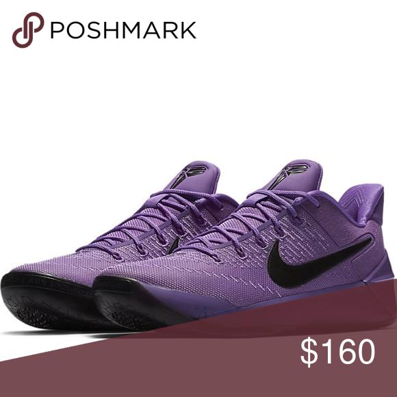 on sale 954dc ea8d6 Nike Kobe AD Purple Stardust Size 8 Nike Men s Shoes Kobe AD Purple  Stardust Black 852425