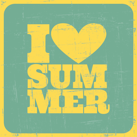 Working With Summer beauty essentials, Summer poster