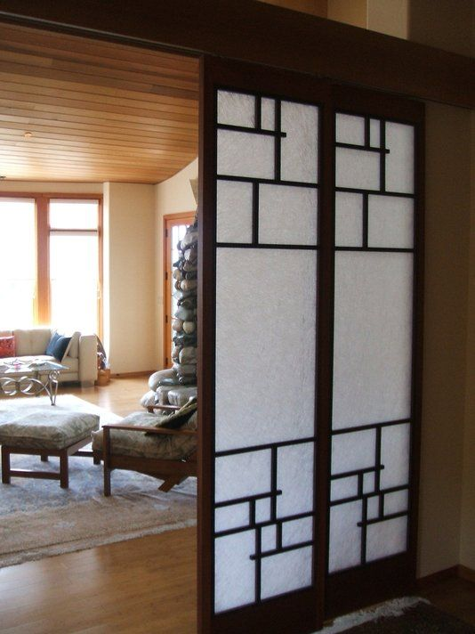 Custom made shoji screen doors final inspiration for Pocket screens sliding doors
