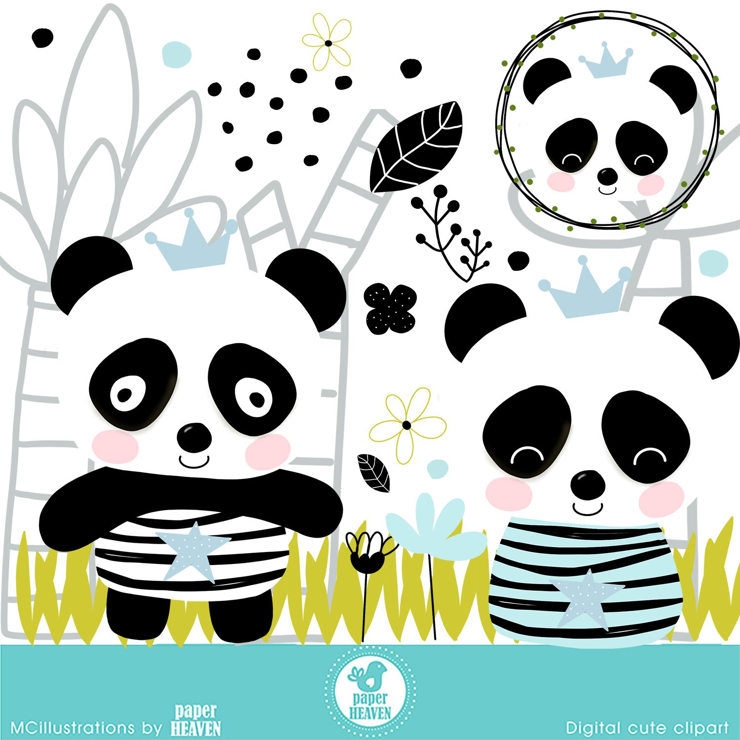 Cute Panda On His Way To School Royalty Free Cliparts, Vectors, And Stock  Illustration. Image 10044896.