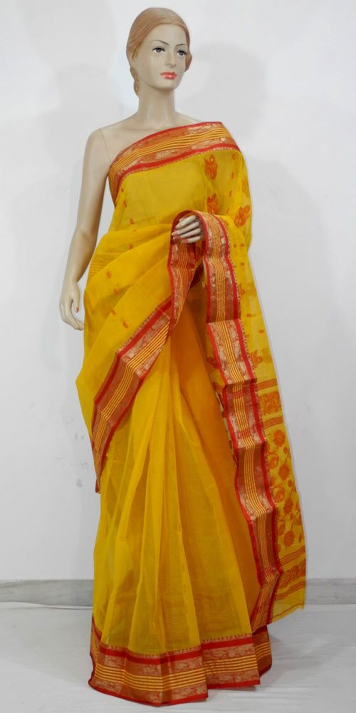 87525d253b Bengal Handloom Tant Saree (Cotton) 10914 , Buy Traditional Tant Sarees  online, Pure