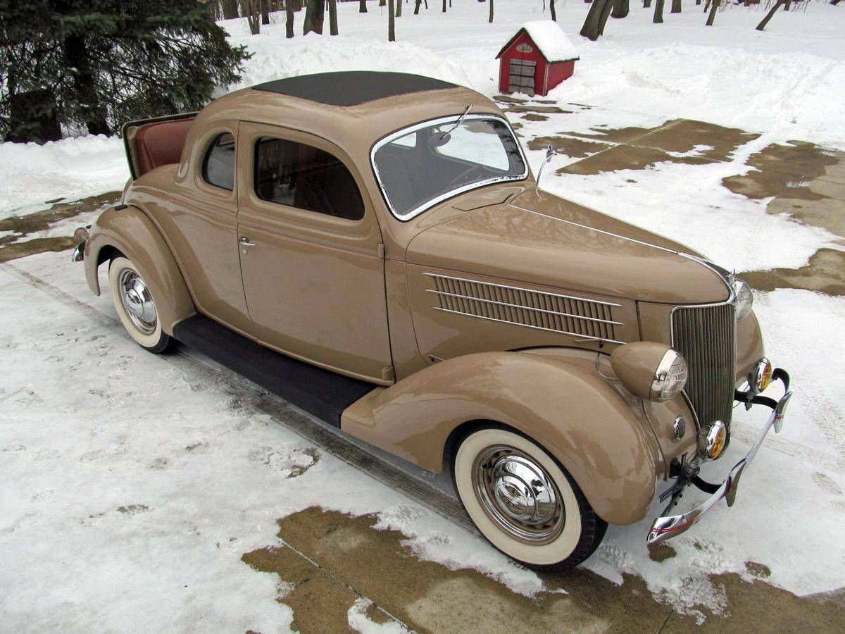 1936 ford deluxe rumble seat coupe