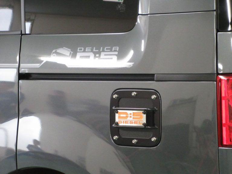 デリカd 5 ロードハウス フューエルカバー デリカd5 デリカ 自動車