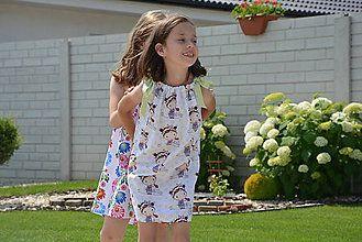 c5ea3ff20595 Sandy letné šaty aj tunika 2v1   jezibabka - SAShE.sk - Handmade ...