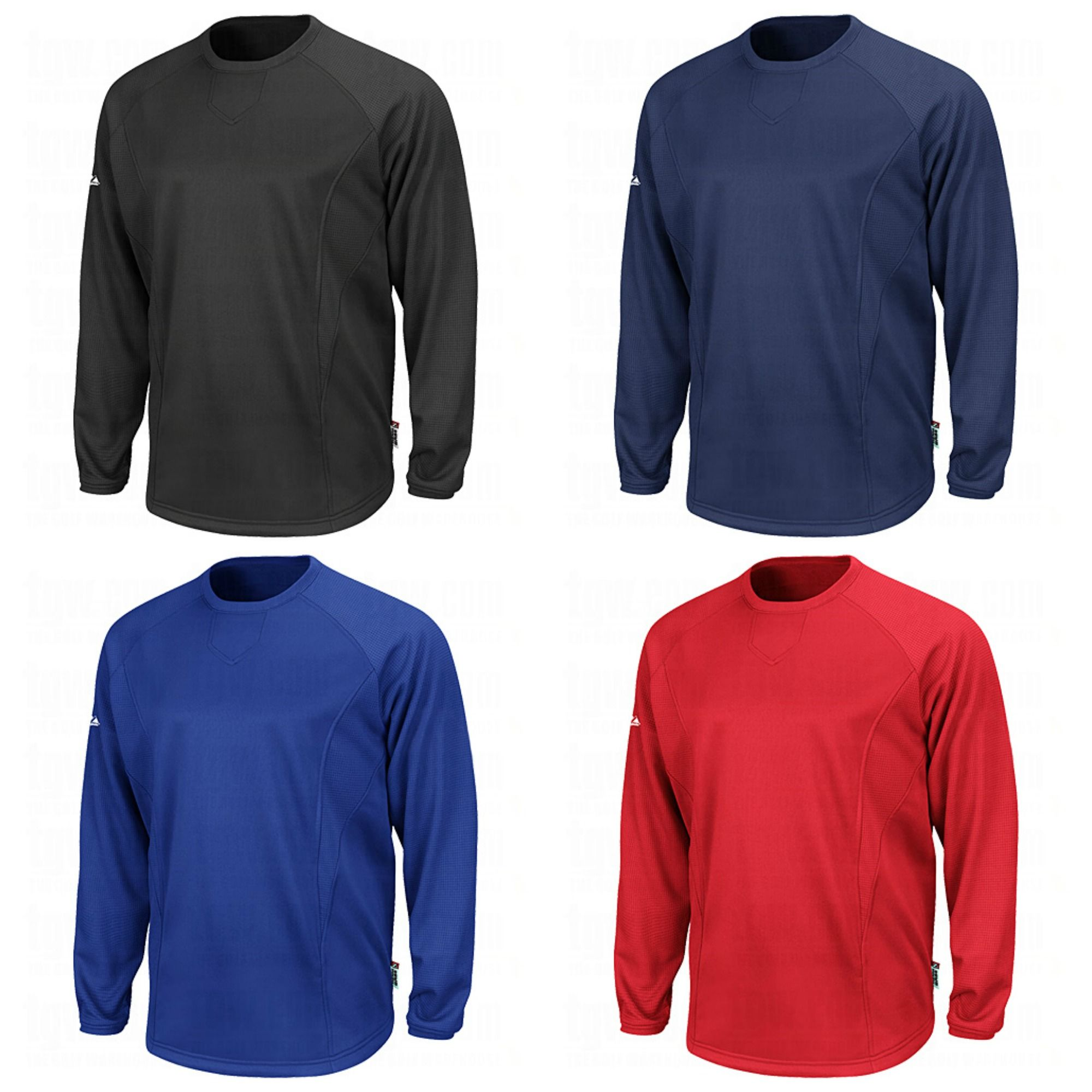 Majestic Therma Base Pro Style Fleece Training Pullovers #Majestic ...