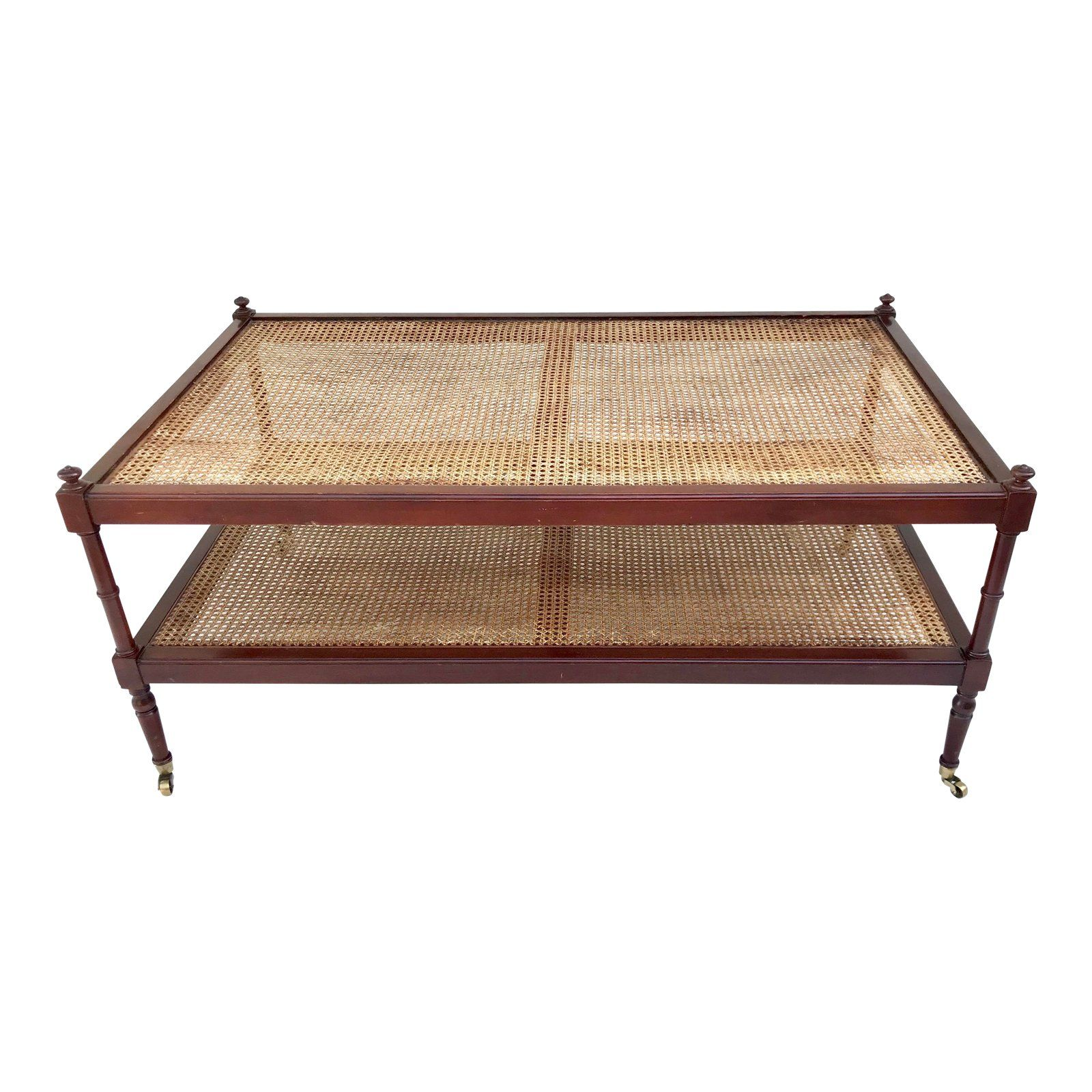 A Gorgeous Mahogany And Cane Coffee Table This Table Is In Beautiful Vintage Condition Show Large Square Coffee Table Coffee Table Wood Coffee Table Furniture [ 1600 x 1600 Pixel ]