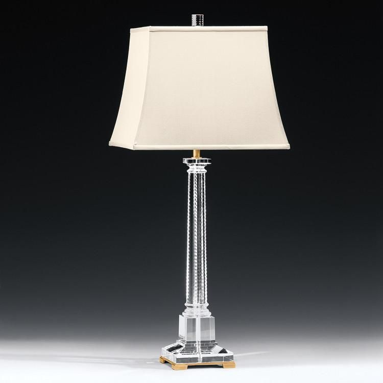 Decorative Crafts Solid Crystal Dowd Table Lamp 8455 Crystal Lamp Lamp Crystal Table Lamps Crystal and brass table lamps
