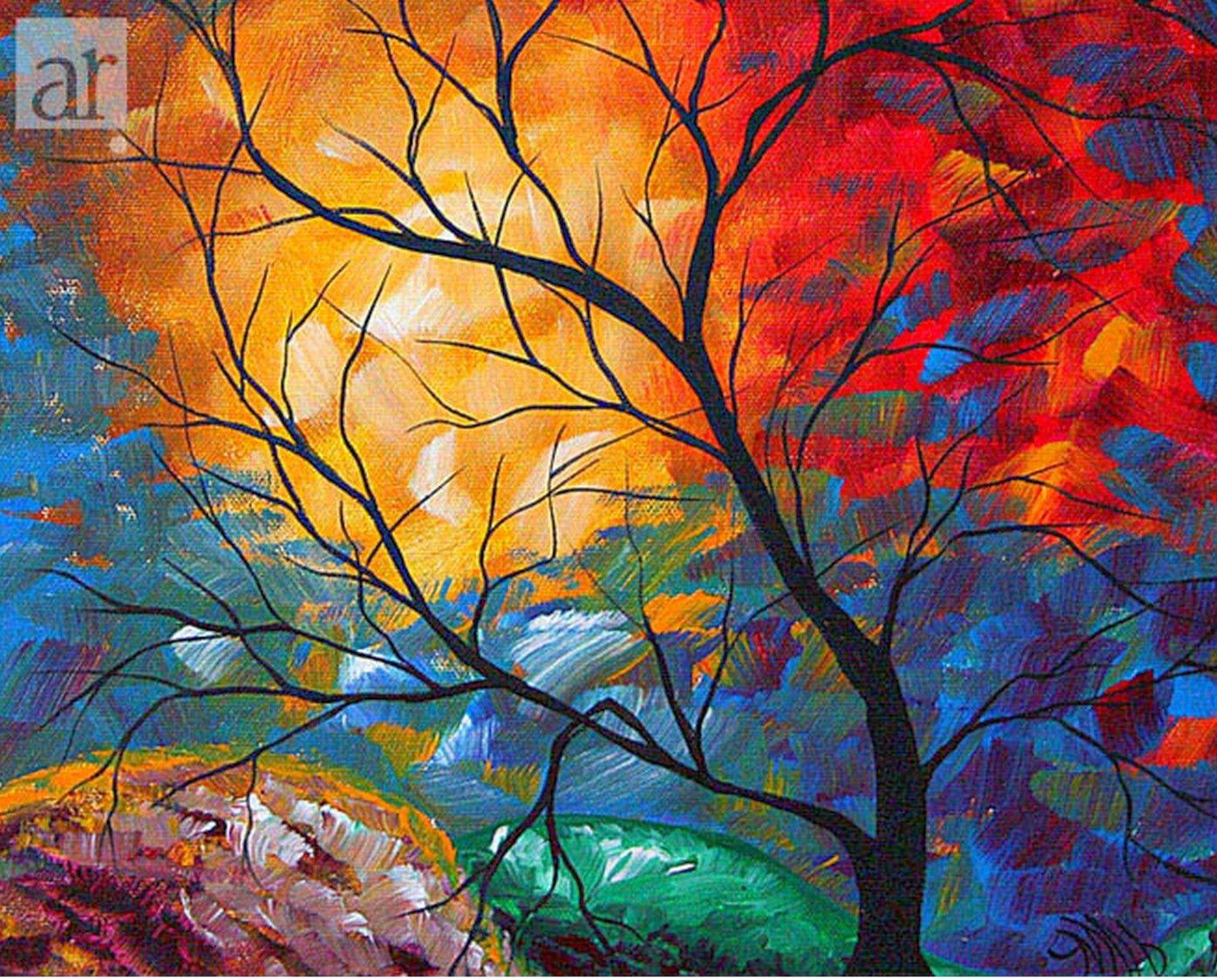 Cuadros modernos abstractos de paisajes aroon duncanson for Fotos cuadros abstractos