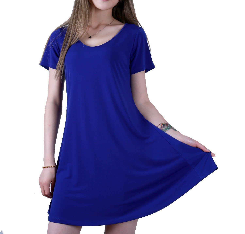 Long Flowy T Shirt Dress Joe Maloy