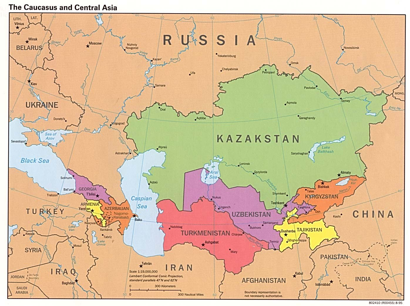 Territorial Expansion Focused On Central Asia Chapter  The - Us map expansion