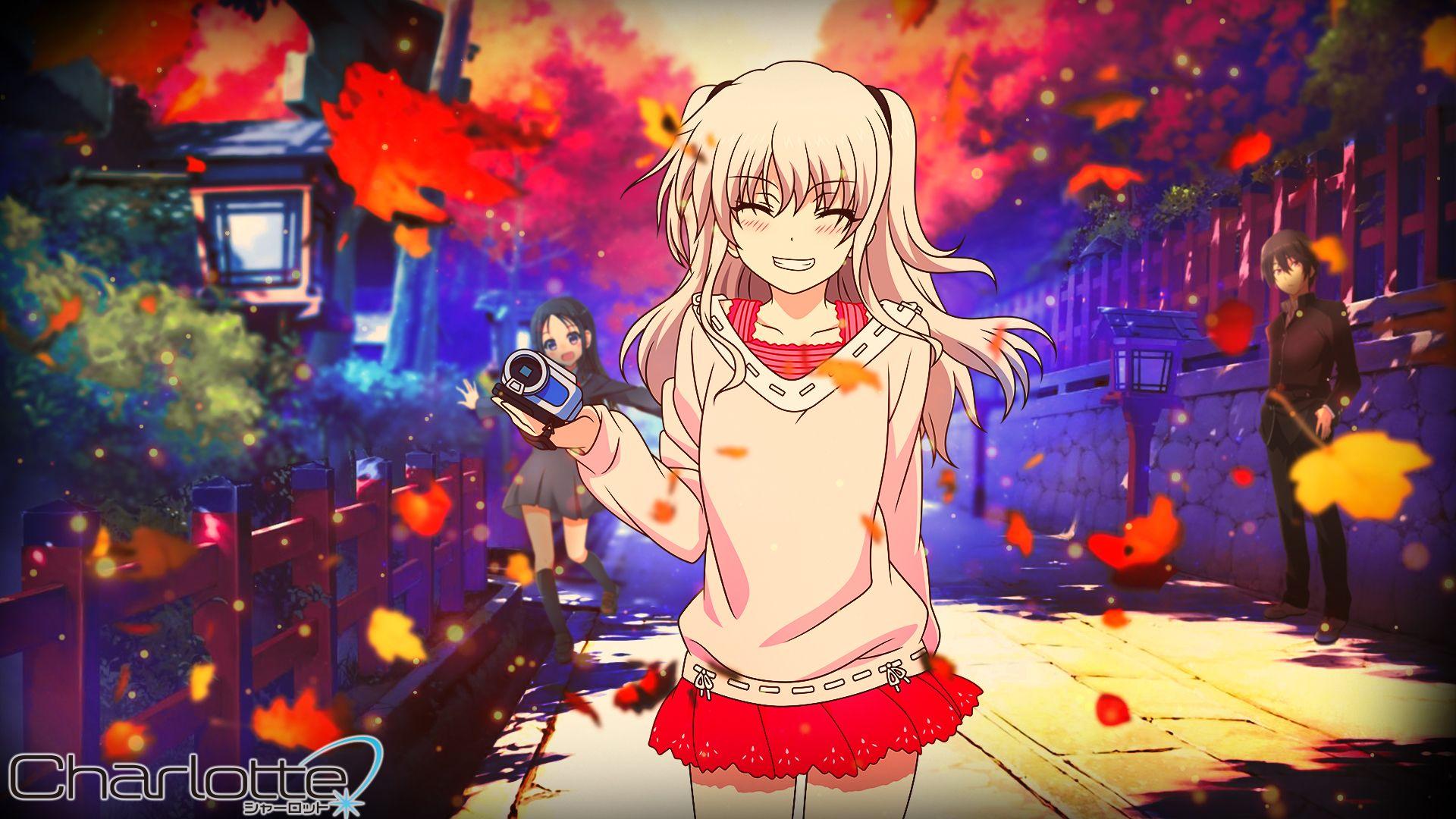 Download Charlotte Hd Backgrounds Charlotte Anime Charlotte Wallpaper Anime