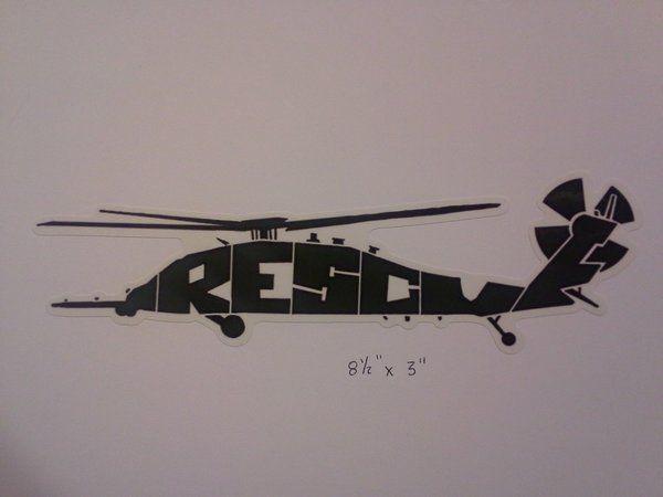 e9805e6755 Green HH-60G Air Force USAF Combat Rescue CSAR Vinyl Window Decal |  Albuquerque Bob's