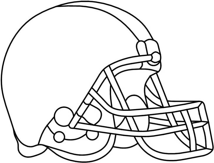Football helmet from Darryl's Stained Glass Patterns