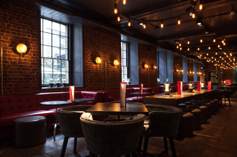OLD BENGAL BAR: Busan BBQ pop-ups in Liverpool Street   It's Rude To Stare #lighting #pendant #wall