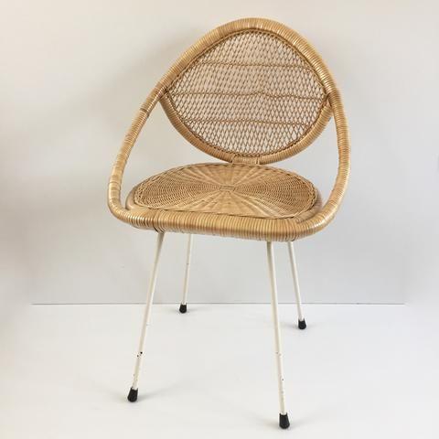 Vintage Wicker Chair Chaise Rotin Vintage Free Delivery Uk Livraison Gratuite France Chaise Rotin Fauteuil Osier Meuble Vintage