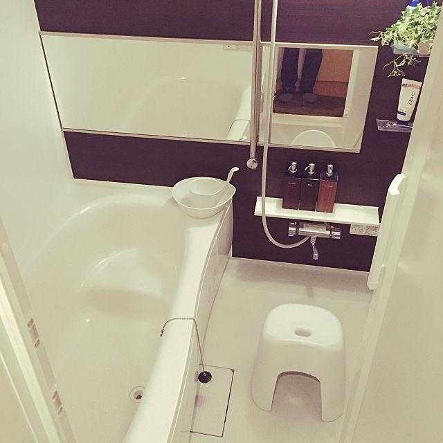 無印良品とニトリでお風呂ホワイト化計画 ニトリ 風呂 お風呂