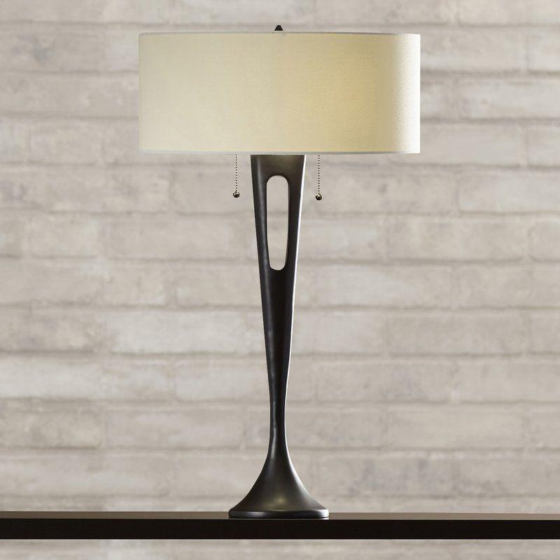 "Wade Logan Watkinsville 2-Light 31"" Table Lamp & Reviews | Wayfair"