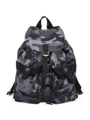 1afe9a0a4ed0 POLO RALPH LAUREN Camo-Print Military Backpack.  poloralphlauren  bags   polyester  nylon  backpacks