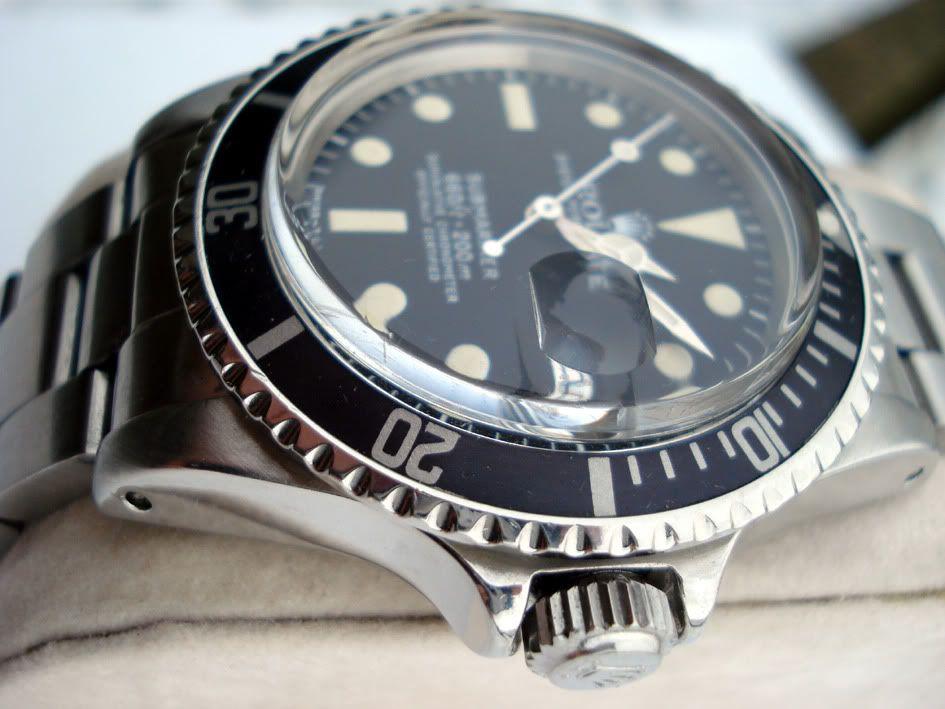 Vintage Rolex Submariner 1680 - love that plexiglass